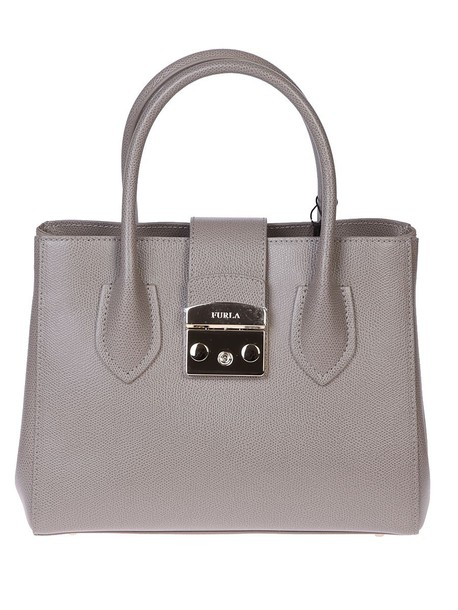 Furla bag leather bag leather beige