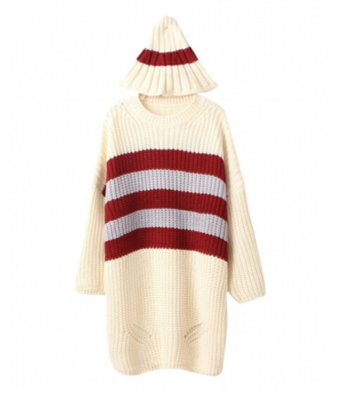 shirt stripes top knitwear knitted cardigan knitted sweater blackfive sweater cardigan jumper hoodie hat striped sweater clothes fashion winter/autumn outfit