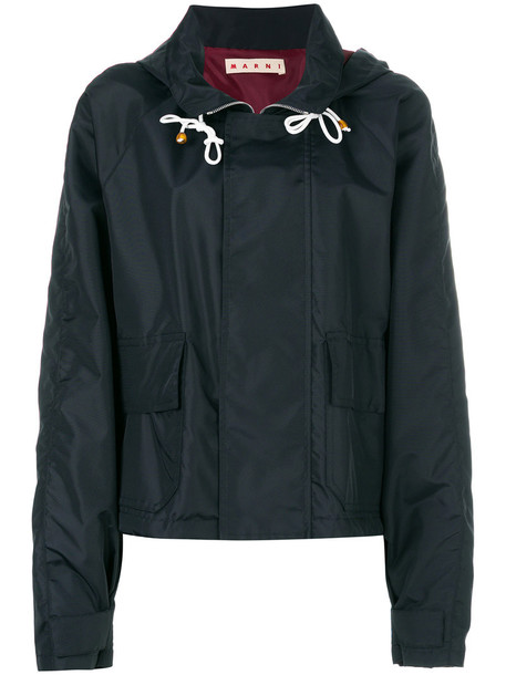 MARNI jacket zip women black