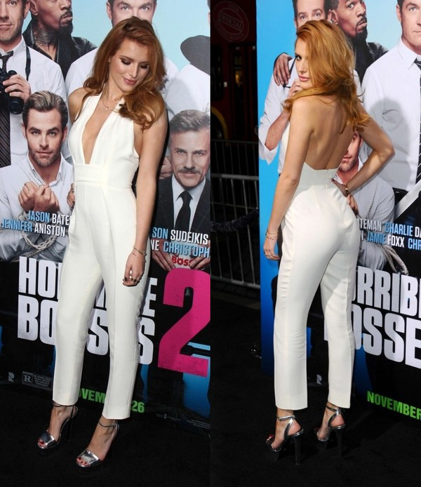 96f576fa778 jumpsuit pants white bella thorne sandals wedges high heels.