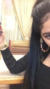jewels,watch,gold watch,gold jewelry,jewelry,earrings,yellow gold earrings,big gold hoops,ear hoops,style,dope,dooe