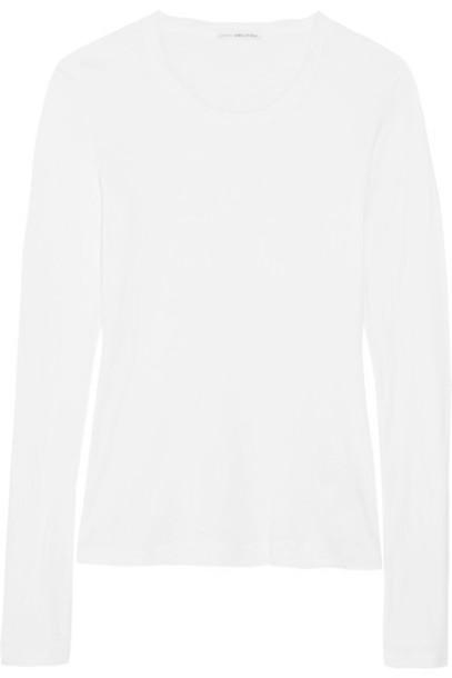 James Perse - Slub Cotton Top - White