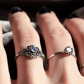 jewels,shop dixi,sterling silver rings,ring,jewelry,boho jewelry,grunge,hippie,hippie chic