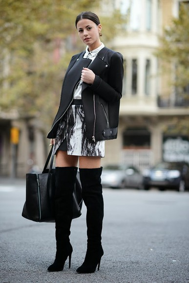 fashion vibe jacket bag shoes coat skirt shirt