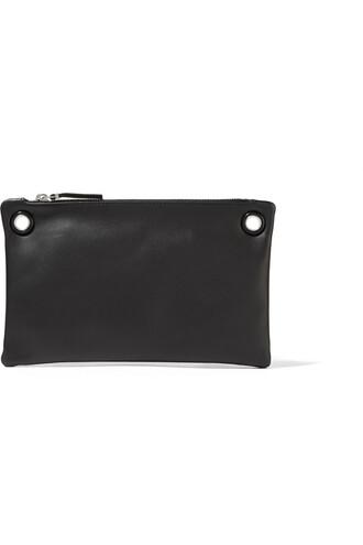 bag shoulder bag leather black