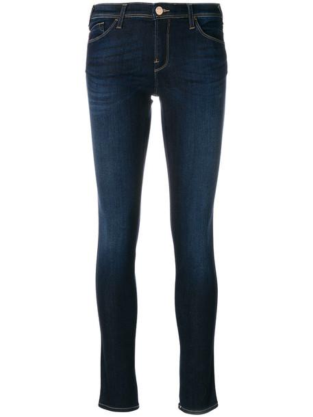 ARMANI JEANS jeans denim women spandex cotton blue