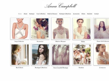 Home - Anna Campbell designer bridal fashion Melbourne
