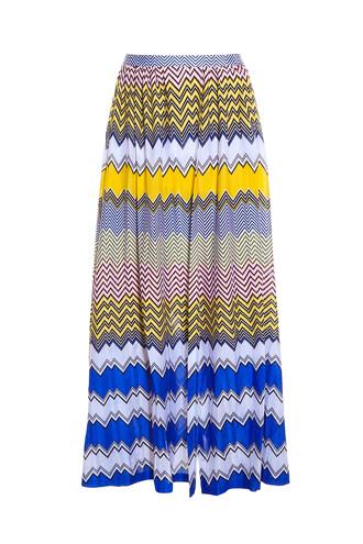 skirt split skirt blue