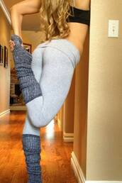 socks,leg warmers,grey,slippers,leggings,workout,tights,tight leggings,grey leggings,longsocks,bra,black,skin tight,fitness,fitness pants,sexy,yoga pants,yoga,yoga leggings,knee high socks,capris,grey pants,grey socks,blond hair,comfy,cute,basic,boobs,pants suit,sports leggings,black and grey sportwearr,sport wear,sexy pants,trouser,tracksuit trousers,running shoes,running,trainers,athletic,tank top,top,black top,gym,squats,workout leggings,slinky,leather leggings,printed leggings,black leggings,christmas leggings,high waisted leggings,nike pro leggings,yoga crops,white yoga pants,outfit,outfit idea,fall outfits,tumblr outfit,bodycon,sportswear,girly,girly wishlist,dope wishlist,grunge wishlist,pants,skinny pants
