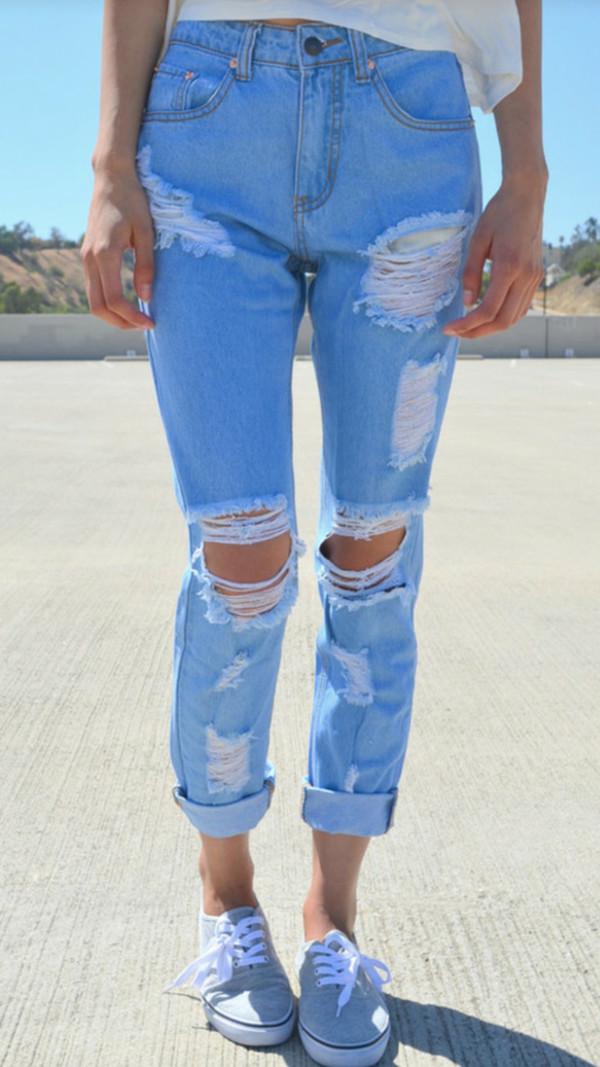 jeans boyfriend jeans ripped boyfriend jeans light blue boyfriend jeans