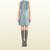 Gucci - leather ruffle front sleeveless dress 363077XN4774760