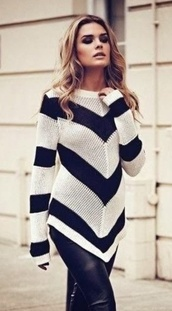 sweater,jumper,navy,mesh,striped sweater,chevron,fine knit jumper