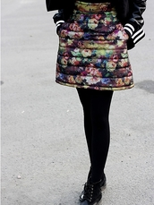 skirt,quilted