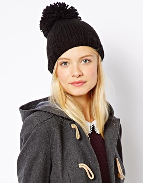 ASOS | ASOS Oversized Pom Beanie at ASOS