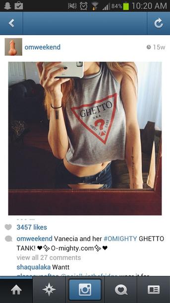 t-shirt crop tops