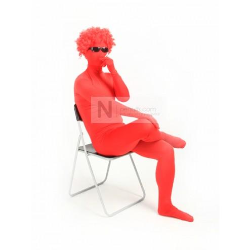 Red Spandex Suit