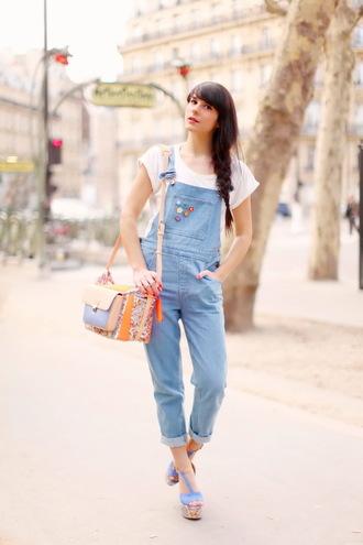t-shirt bag shoes the cherry blossom girl