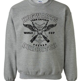 sweater harry potter hogwarts quidditch percy jackson