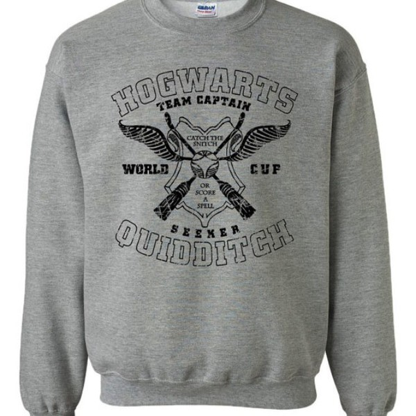 sweater harry potter hogwarts quidditch percy jackson harry potter