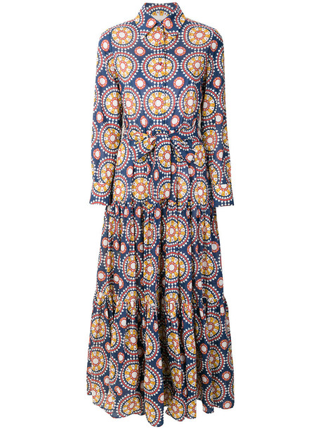 La DoubleJ dress women cotton blue