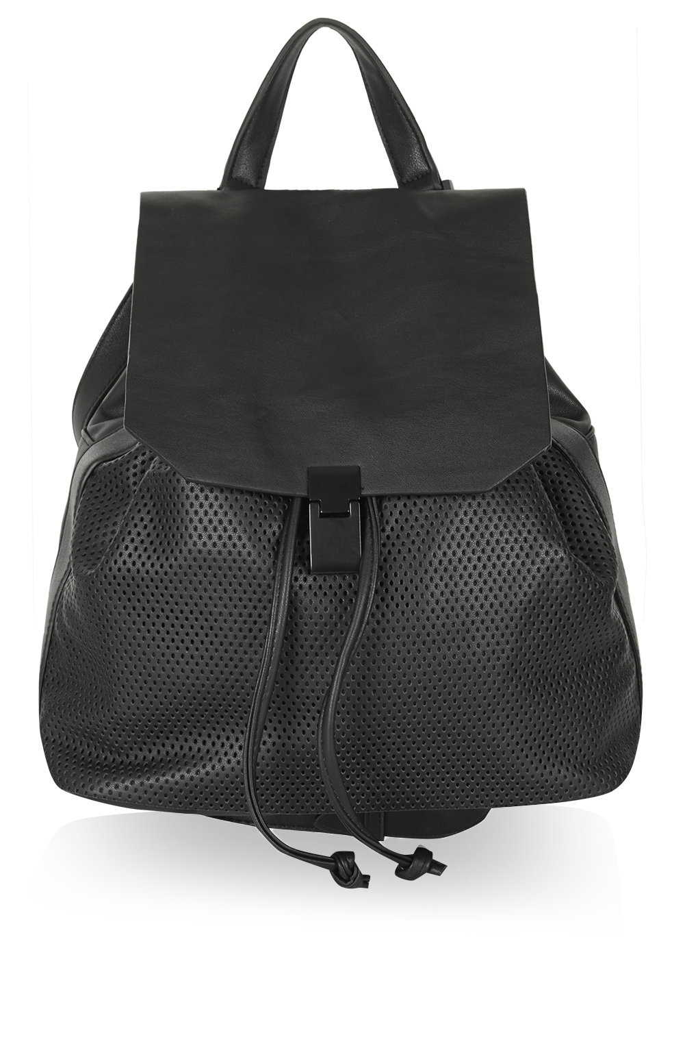 Soft perforated backpack