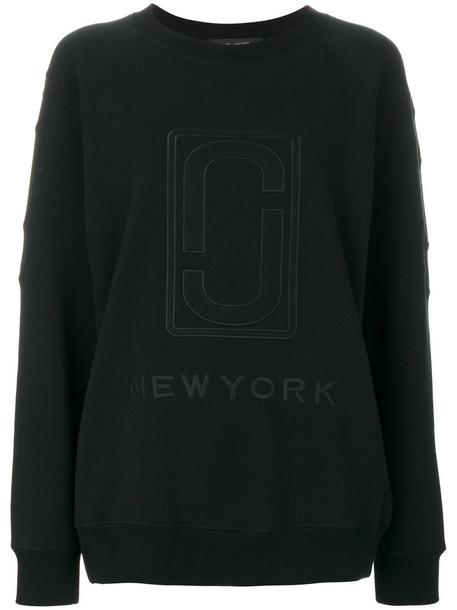 Marc Jacobs - double J sweatshirt - women - Cotton - XL, Black, Cotton