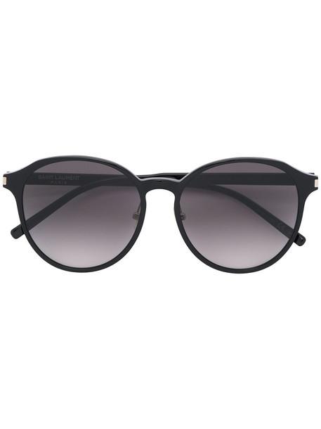 Saint Laurent Eyewear oversized women sunglasses oversized sunglasses black