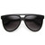 Retro Sunglasses Flat Top Oversize Aviators 8918