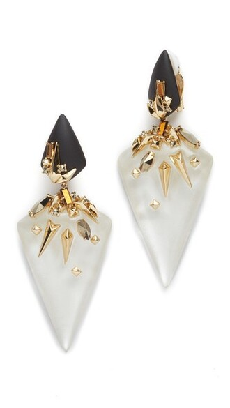 studded earrings silver jewels