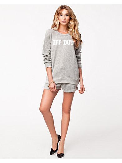 Off Duty Sweater - Nly Trend - Grå - Trøjer - Tøj - Kvinde - Nelly.com