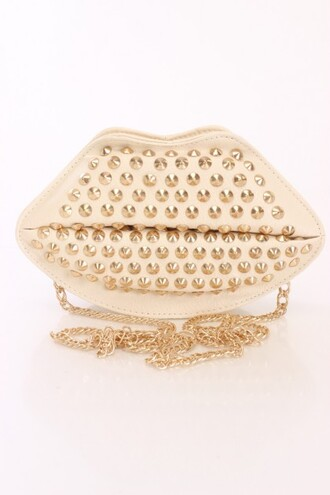 bag clutch handbag studded bag studded lips fall fashion summer outfits sexy fashion chic fashion ootd ootn accesory accessorize