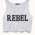 Rebel Girl Cropped Tank | FOREVER 21 - 2000074226