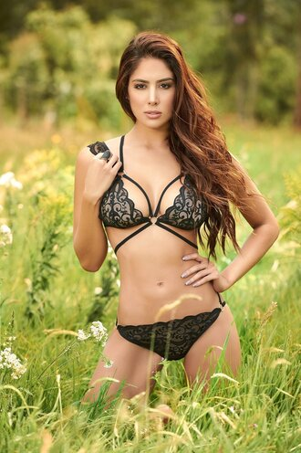 underwear lingerie black sexy bossy babe mapalé sexy  lingerie lace lingerie