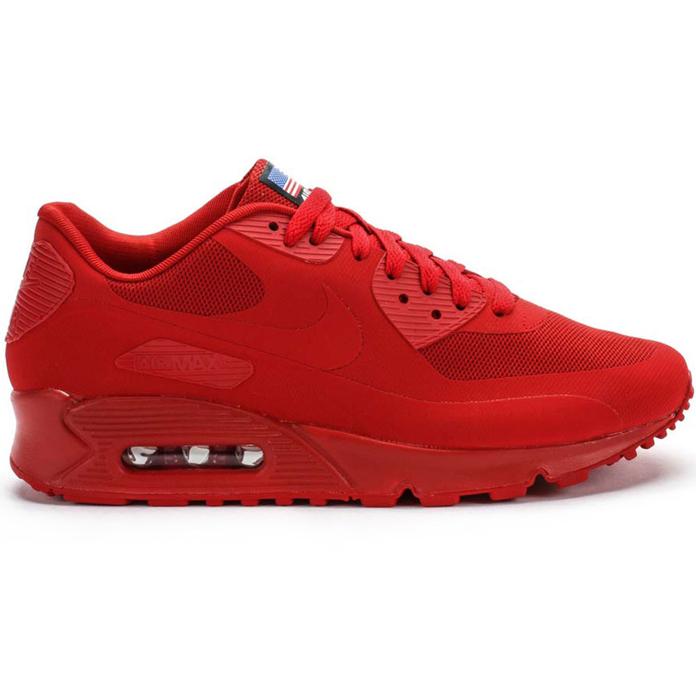 Nike Air Max 90 Independence Pack Hyperfuse Men's (Red)