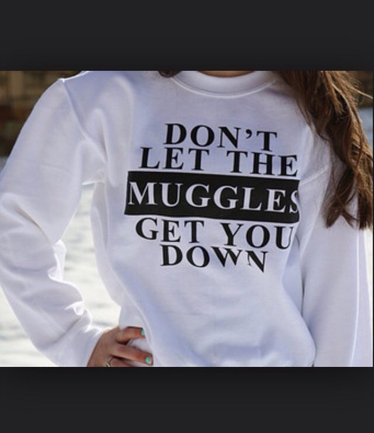sweater harry potter muggles movies tv/movies