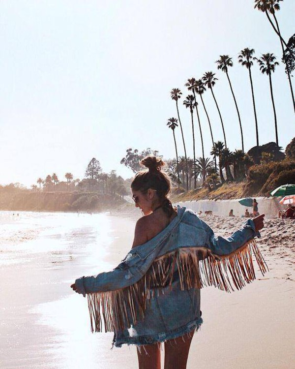 jacket gold fringe festivals missguided 36683 denim jacket denim fringes fringed jacket fringe denim jean jackets oversized festival outfit music festival outfits coachella outfit burning man burning man clothing