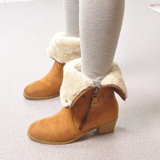 shoes boot sweet zip