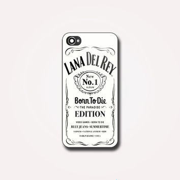 Lana Del Rey Jack Daniels White - For iPhone and Samsung Galaxy. Choose the option for device and colour case on Wanelo