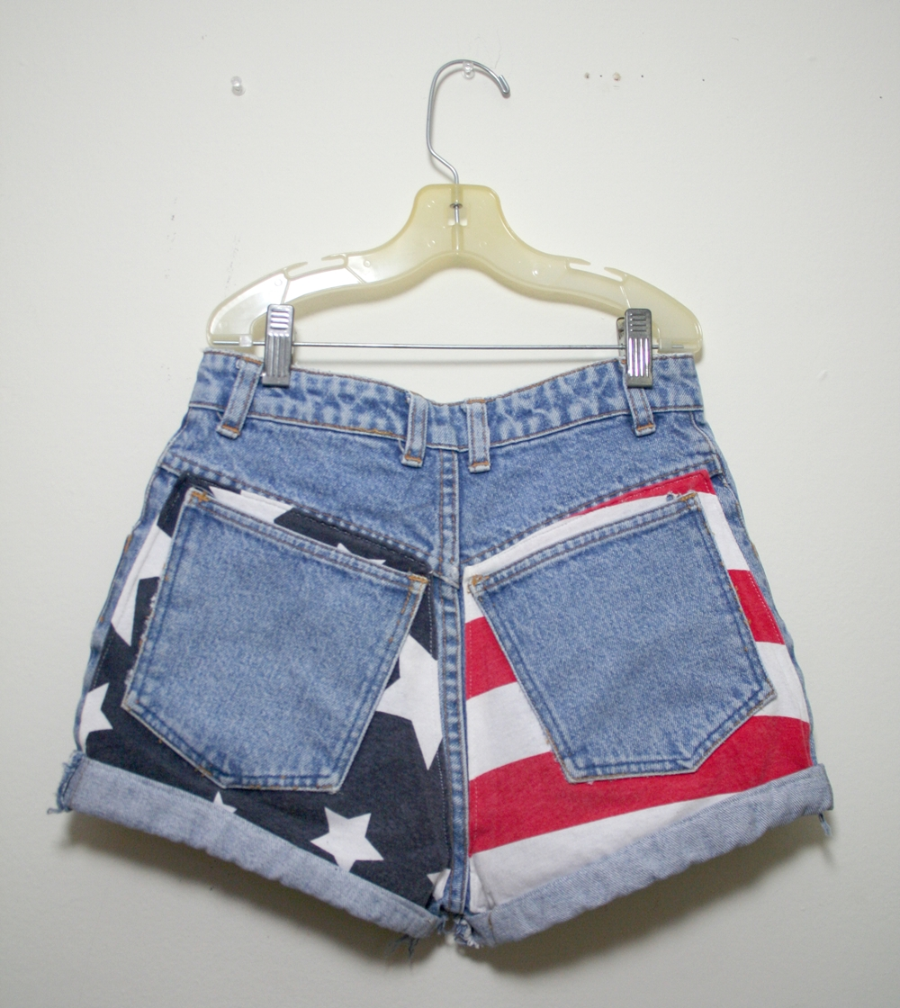 American flag shorts (us shipping only) from vintage & vogue on storenvy