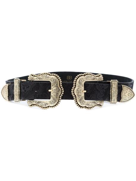 western belt belt black