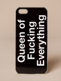Queen Of F*cking Everything iPhone 5s Case by Zero Gravity - ShopKitson.com