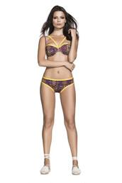swimwear,bikini,bandeau,cheeky,print,bikiniluxe