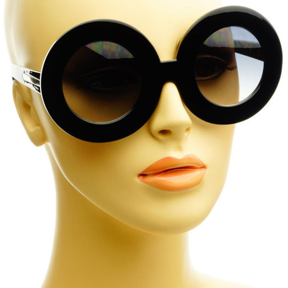sunglasses eyewear tint glasses fab black lens circle black glasses sunglasses
