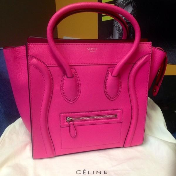 buy celine online bags - Authentic Celine Luggage Series Micro Shopper Tote Bag Black ...