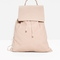& other stories | flap leather backpack | beige