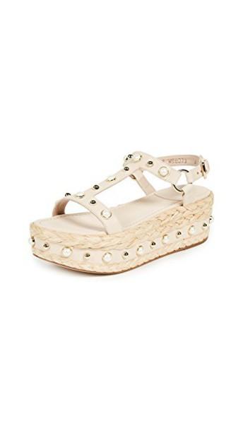 STUART WEITZMAN sandals flatform sandals shoes