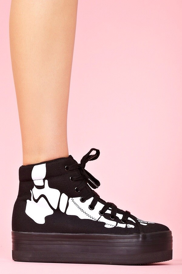 shoes jeffrey campbell platform shoes platform shoes black black shoes skeleton skeleton shoes swag