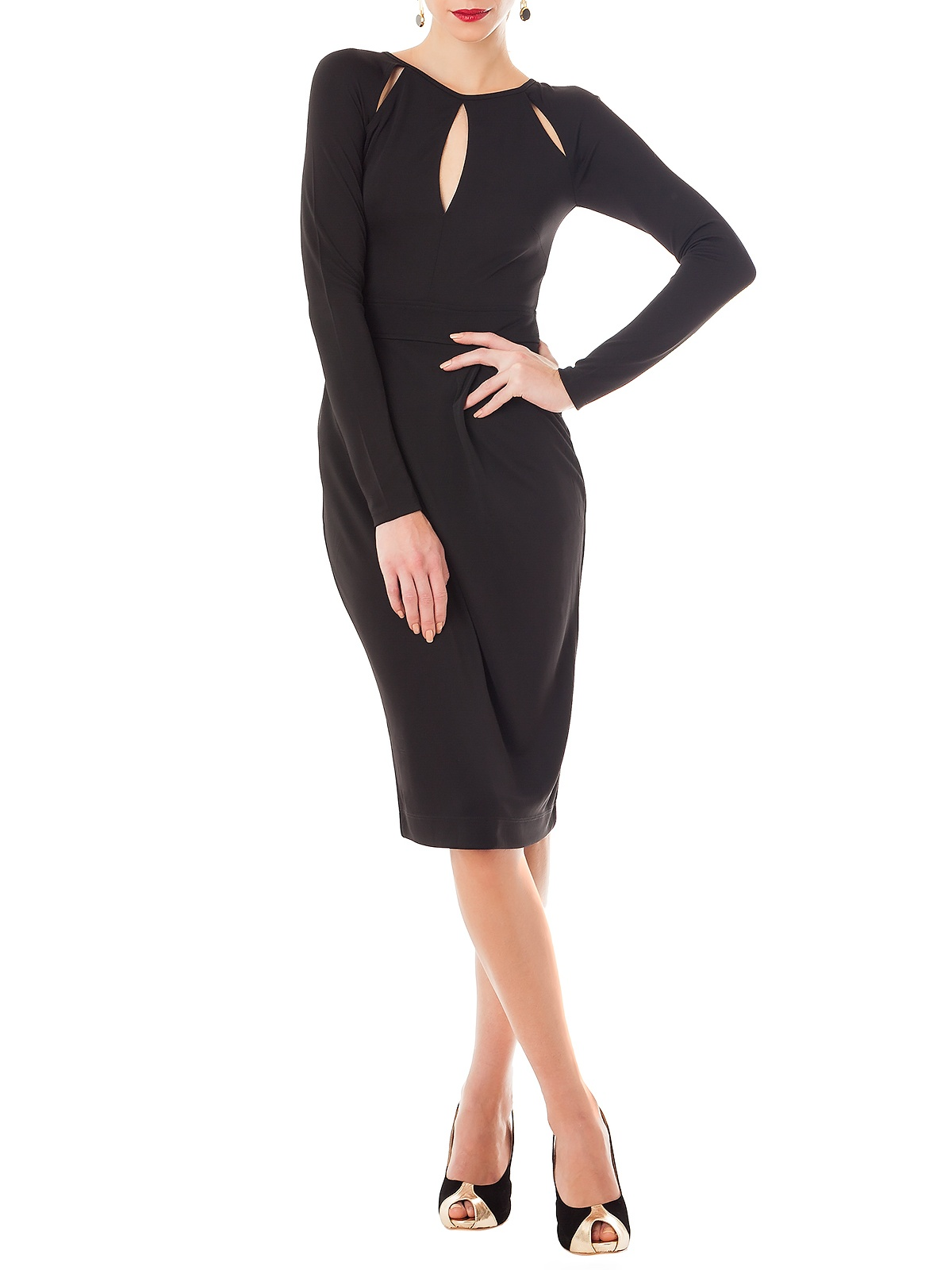 TEARS BLACK DRESS | GIRISSIMA.COM - Collectible fashion to love and to last