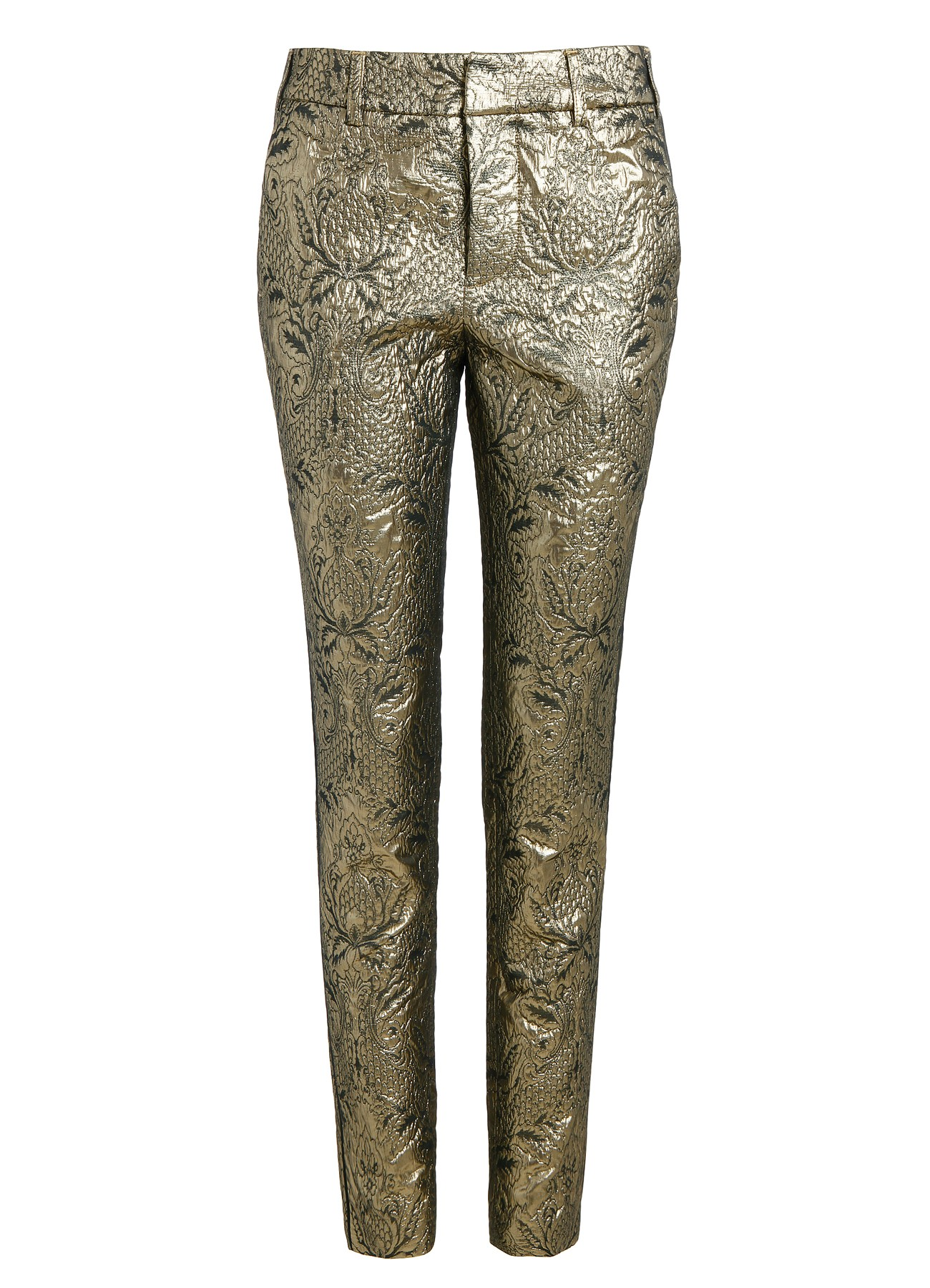 pants for  woman posh dore deluxe gold-Zadig&Voltaire
