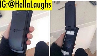 phone cover flip phone black iphone